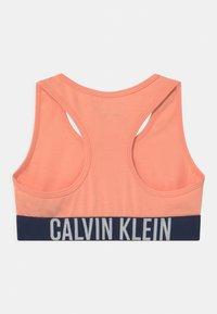 Calvin Klein Underwear - 2 PACK - Bustier - apricot pink/navy iris - 1