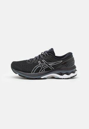 GEL-KAYANO 27 - Zapatillas de running estables - black/pure silver