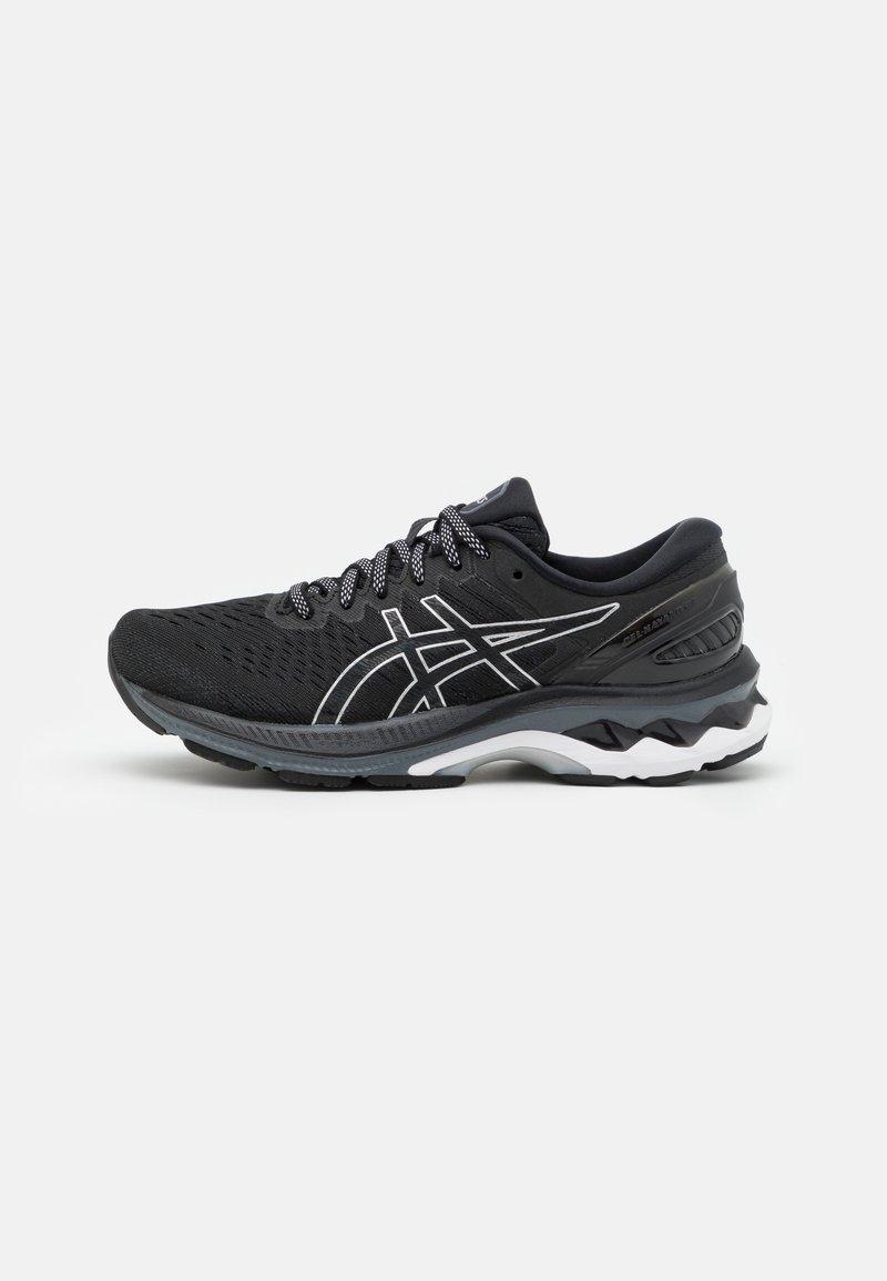ASICS - GEL-KAYANO 27 - Stabilty running shoes - black/pure silver