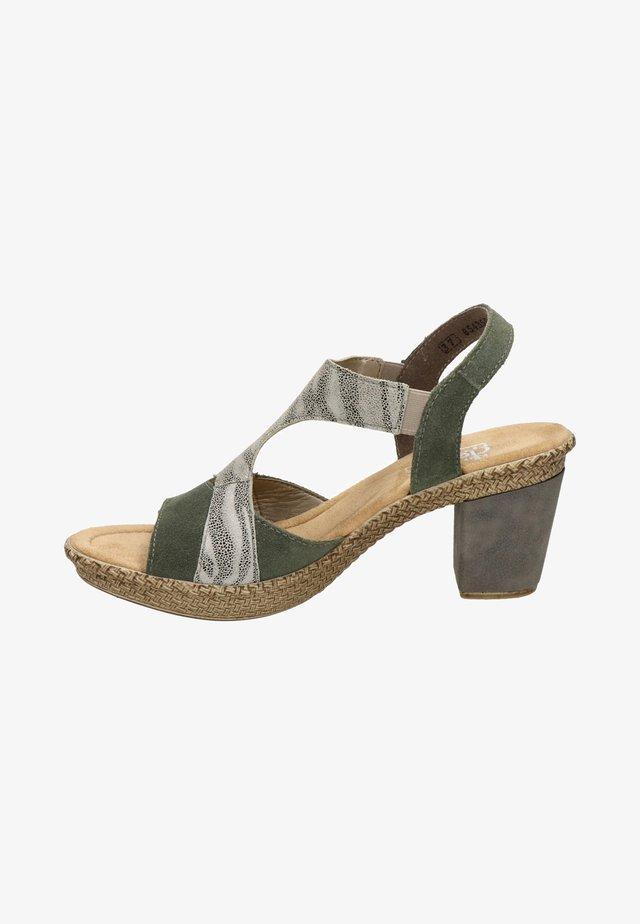 Sandalen - groen