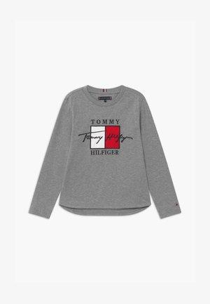 SIGNATURE TEE - Camiseta de manga larga - grey