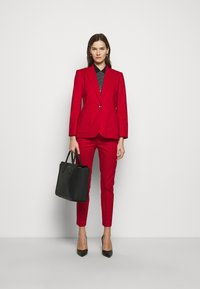 Lauren Ralph Lauren - STRETCH JACKET - Blazer - lipstick red - 1