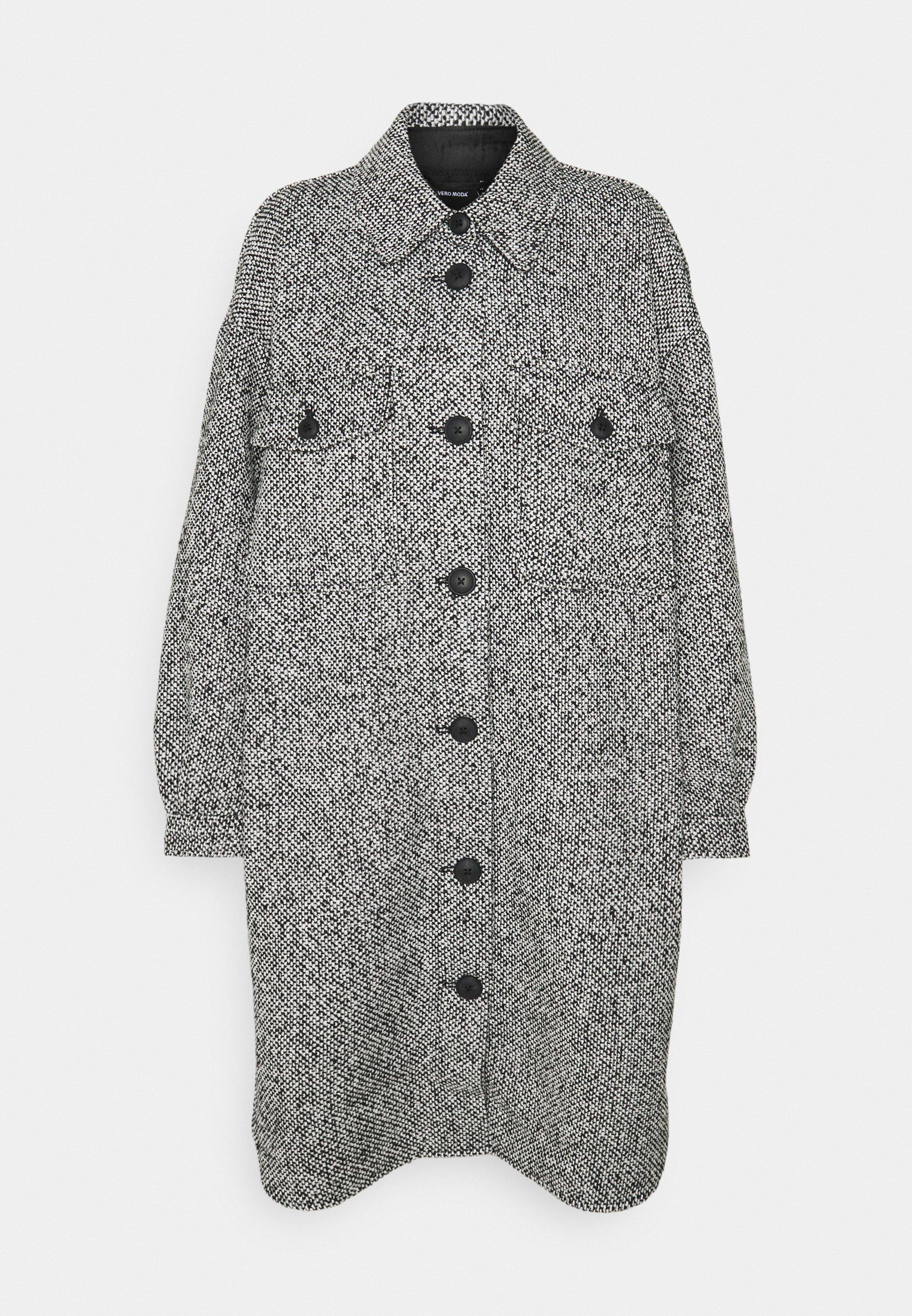 Women VMROSIE LONG SHIRT COAT - Classic coat