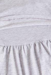 Anna Field MAMA - Jersey dress - grey - 2