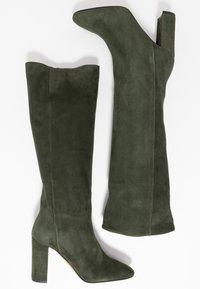 Bianca Di - Kozačky na vysokém podpatku - verde - 3