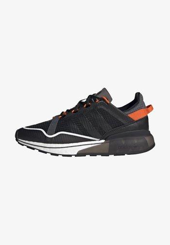 ZX 2K BOOST PURE - Trainers - core black grey six orange