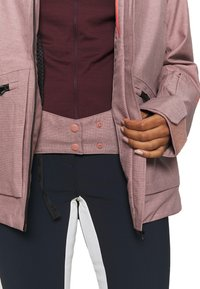 Helly Hansen - POWDERQUEEN 3.0 JACKET - Snowboard jacket - ash rose - 3