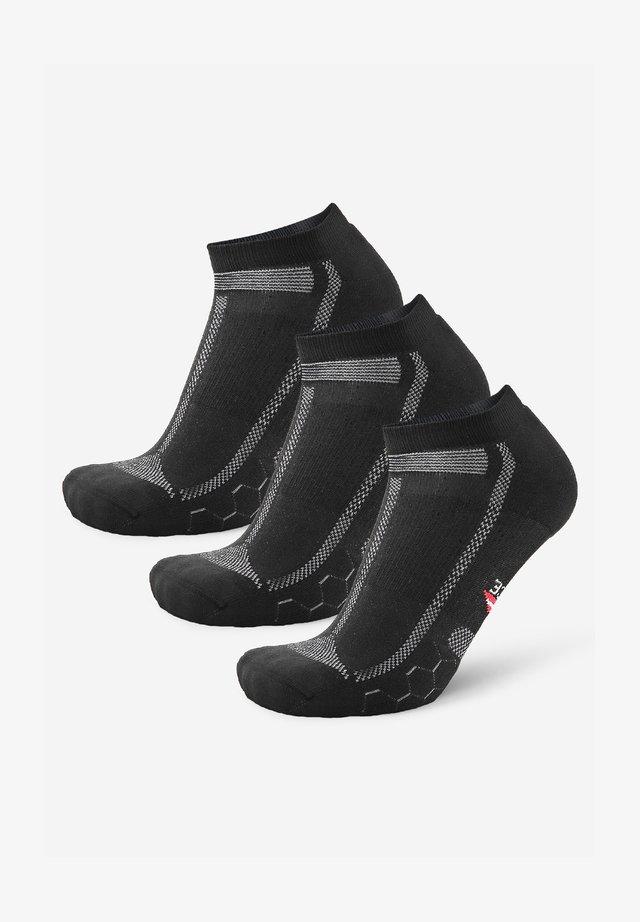 3 PACK - Sokken - black grey