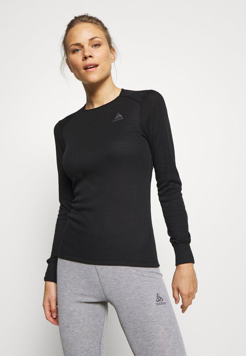 ODLO - CREW NECK ACTIVE WARM - Unterhemd/-shirt - black