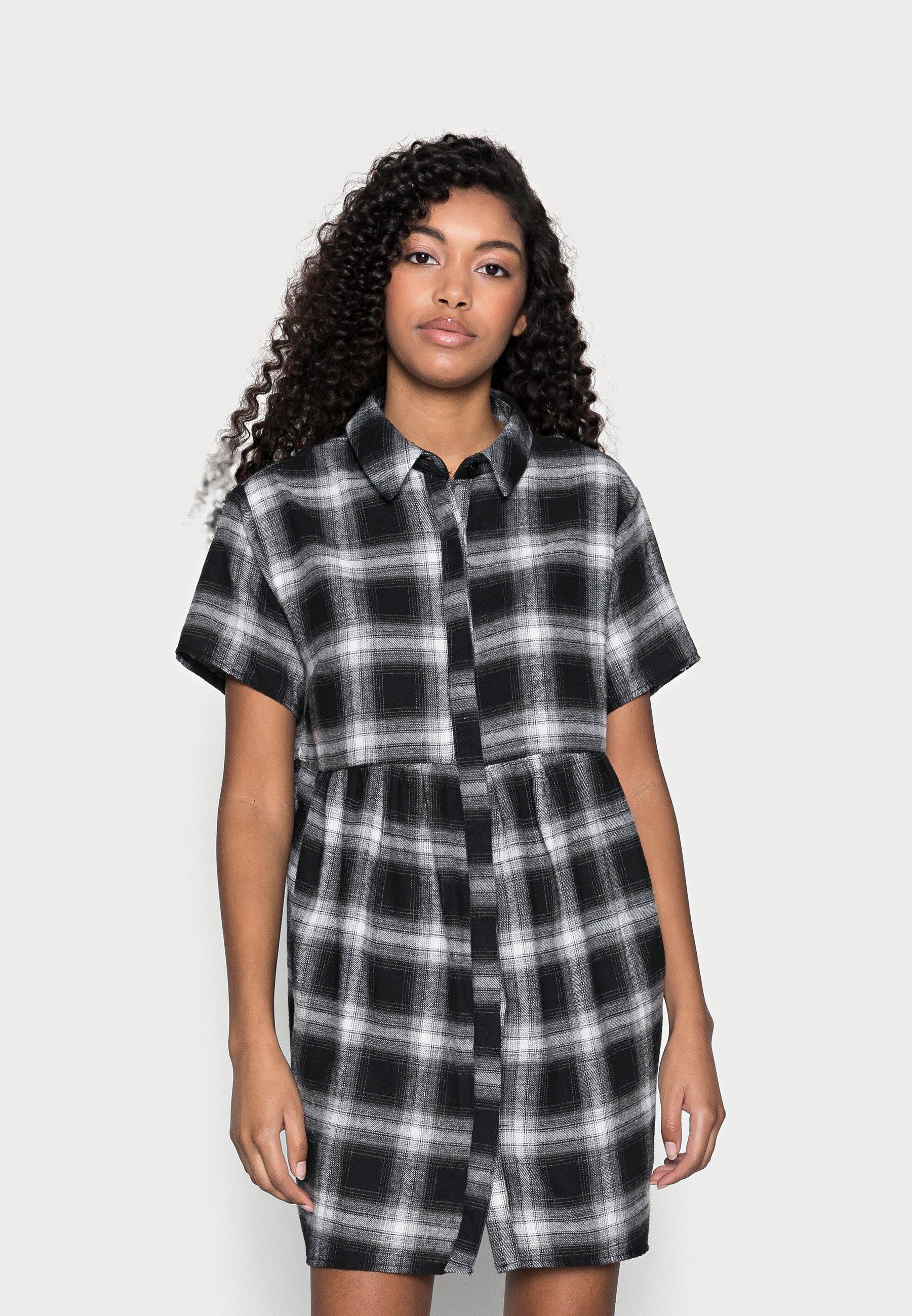 Donna SMOCK DRESS CHECK - Abito a camicia