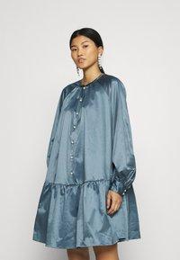 Samsøe Samsøe - STAR DRESS  - Day dress - blue mirage - 0