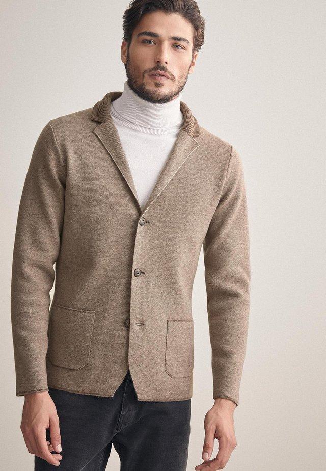 Blazer jacket - tan