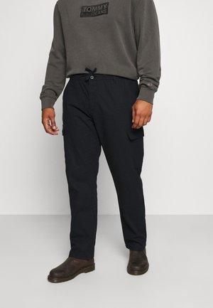 LASSO - Cargo trousers - black
