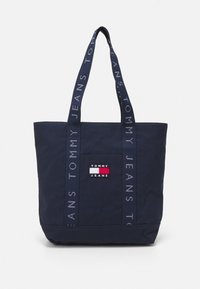 Tommy Jeans - HERITAGE TOTE - Shopping bag - blue - 0