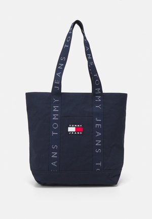 HERITAGE TOTE - Shoppingveske - blue