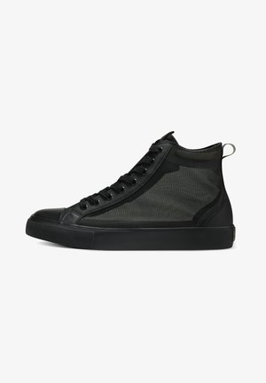 NAKED MID TOP - High-top trainers - smu black