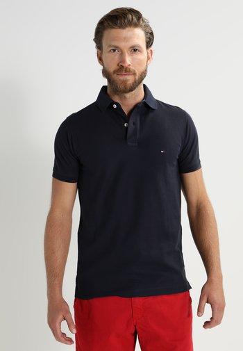 PERFORMANCE SLIM FIT - Polo shirt - blue