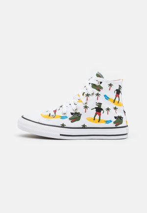 CHUCK TAYLOR ALL STAR  - Korkeavartiset tennarit - white/multicolor/black