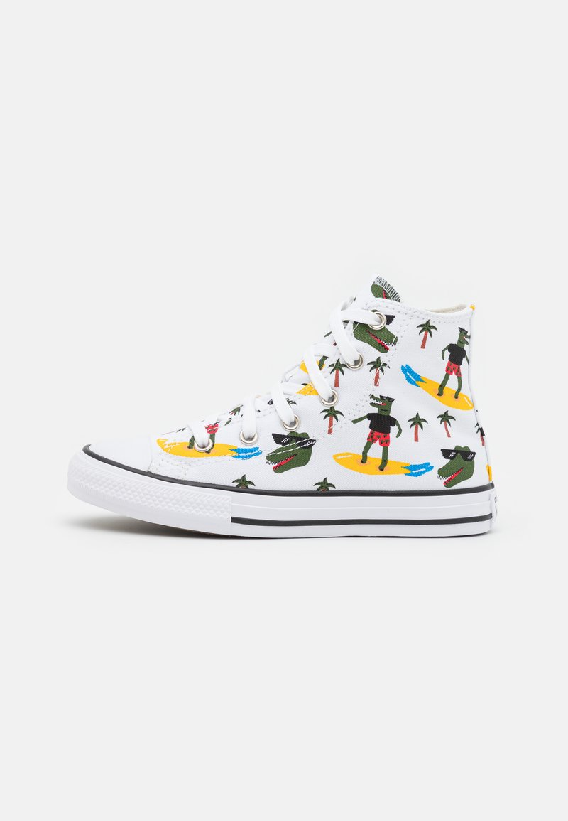 Converse - CHUCK TAYLOR ALL STAR  - Zapatillas altas - white/multicolor/black