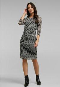 Esprit Collection - Shift dress - black - 1