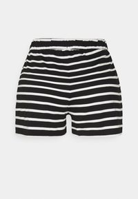 ONLY - ONLMAY LIFE STRIPE 2 PACK  - Shorts - black/black - 2