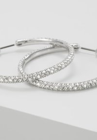 Swarovski - HOOP - Earrings - silver-coloured - 5