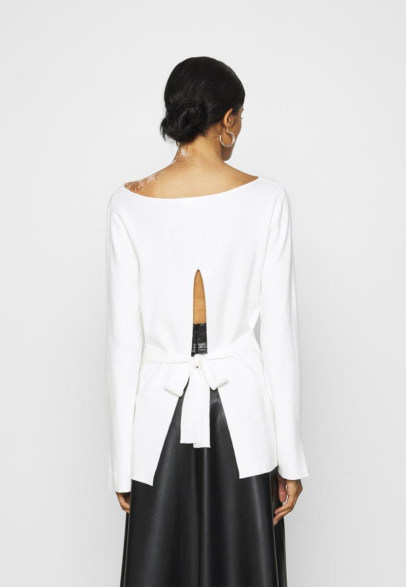 4th & Reckless Strickpullover - white/weiß 6venN5