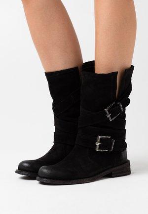 GREDO - Cowboy/Biker boots - nirvan nero