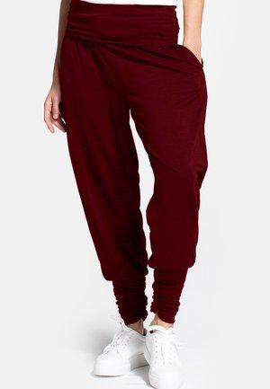 Spodnie treningowe - burgundy