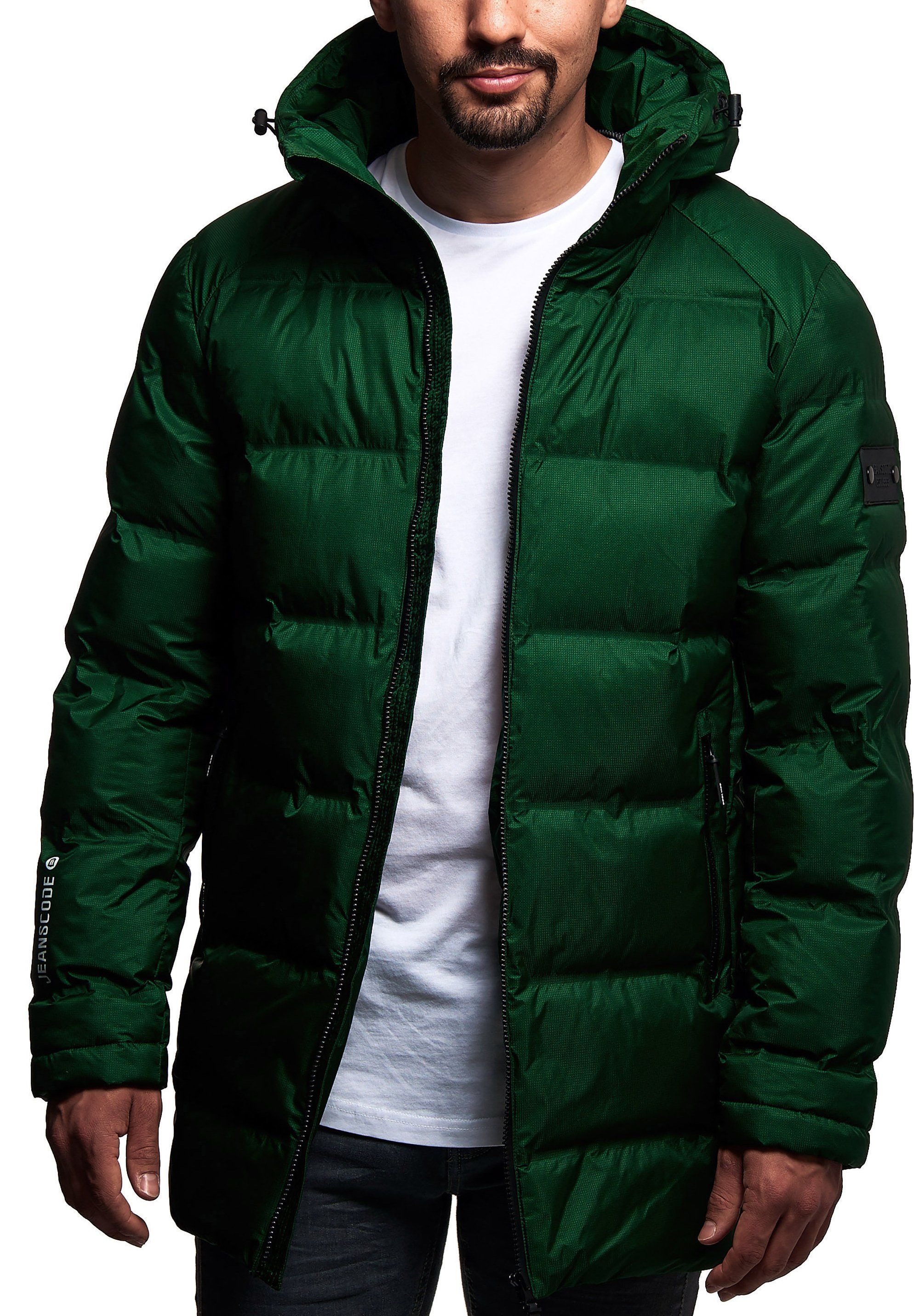 Indicode Jeans Wintermantel - Greener