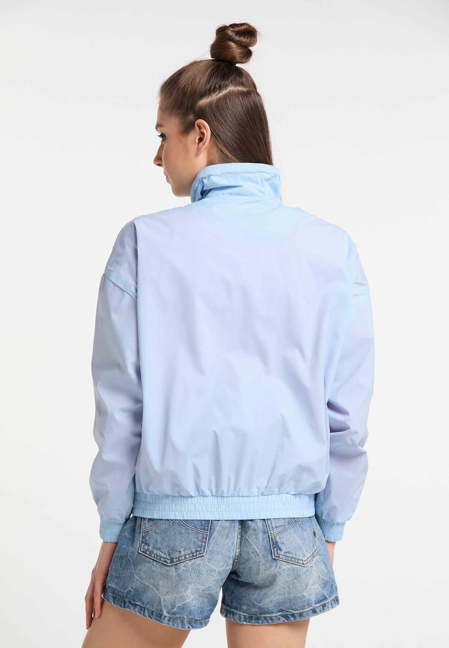 myMo WINDBREAKER Leichte Jacke light blue/hellblau