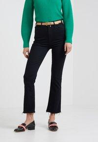 Mother - HUSTLER ANKLE FRAY - Flared Jeans - not guilty - 0