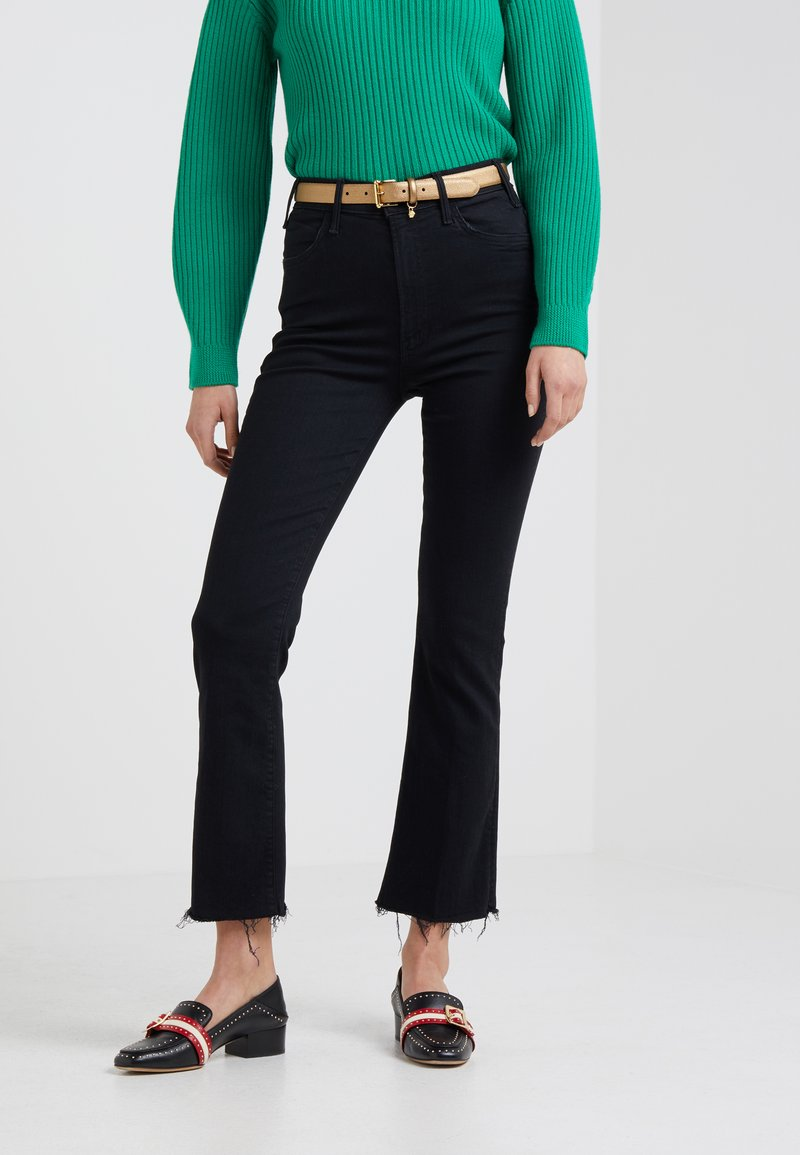 Mother - HUSTLER ANKLE FRAY - Flared Jeans - not guilty
