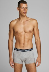 Jack & Jones - 5 PACK - Boxershort - dark grey melange - 0