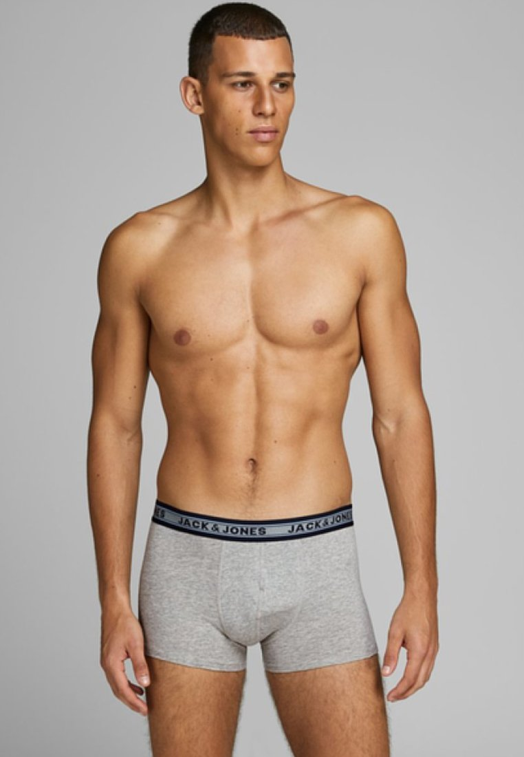 Jack & Jones - 5 PACK - Boxershort - dark grey melange