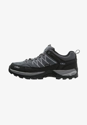 RIGEL LOW TREKKING SHOES WP - Hiking shoes - grey/mineral