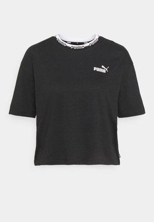 AMPLIFIED TEE - Print T-shirt - black