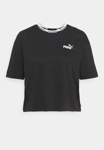 AMPLIFIED TEE - T-shirts med print - black