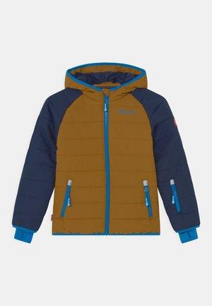 HAFJELL SNOW JACKET PRO UNISEX - Ski jacket - navy/bronze/azure blue
