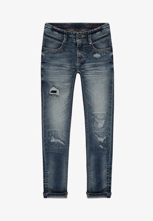 ANZIO - Jeans Skinny Fit - mid blue wash