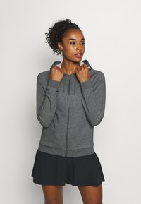 Lacoste Sport - JACKET - Zip-up sweatshirt - pitch chine - 0