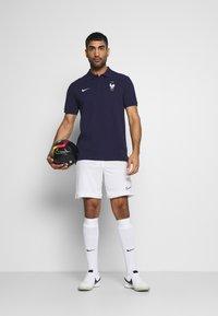 Nike Performance - FRANKREICH FFF - Polo - blackened blue/white - 1