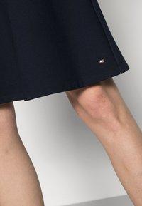 Tommy Hilfiger - PUNTO KNEE DRESS - Day dress - blue - 4
