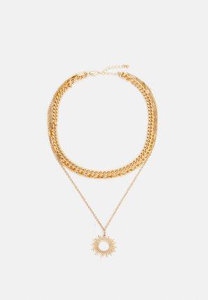 PCBOBBIE COMBI NECKLACE - Necklace - gold-coloured