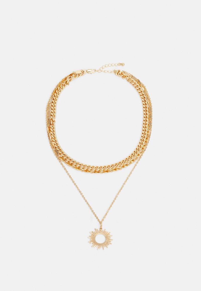Pieces - PCBOBBIE COMBI NECKLACE - Smykke - gold-coloured
