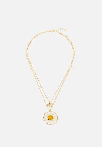 FGFLOWA COMBI NECKLACE - Collana - gold-coloured
