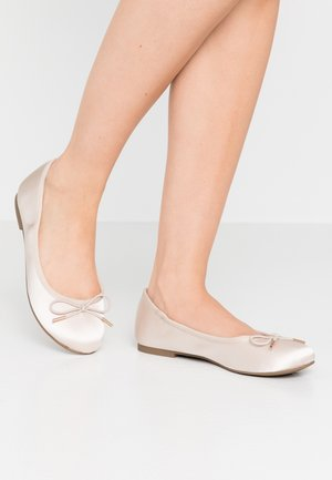Ballet pumps - champagne