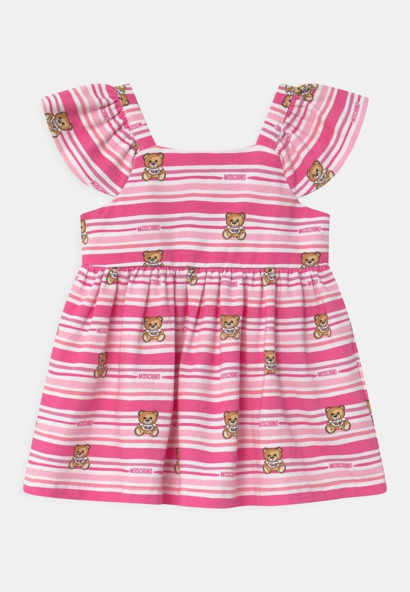 MOSCHINO - SET - Jersey dress - pink
