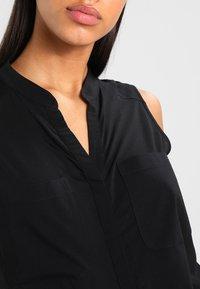 Vero Moda - ERIKA SOLID  - Bluse - black - 3
