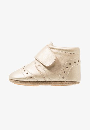 PETIT HOME SHOE - Slippers - gold